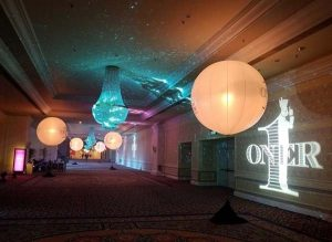 Nylon Sky Balloon Light