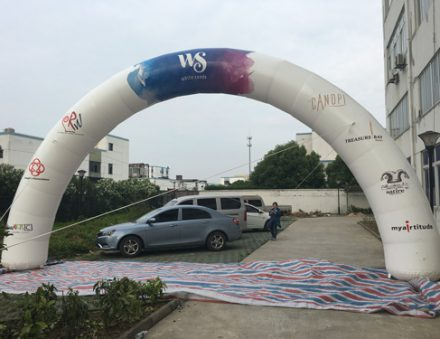10m WS inflatable arch