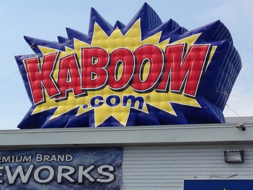 Inflatable Kaboom Firework