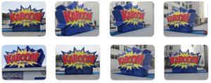 Inflatable Kaboom Firework