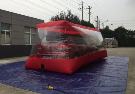 Inflatable Clear Car Cover | Plus Version