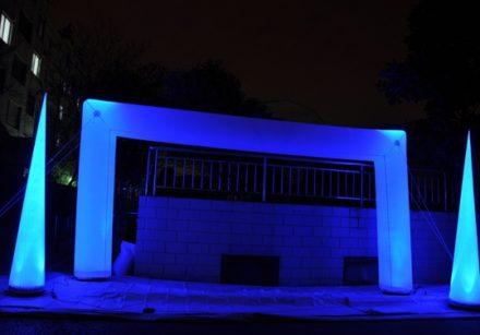 Door Shape Arch Lighting