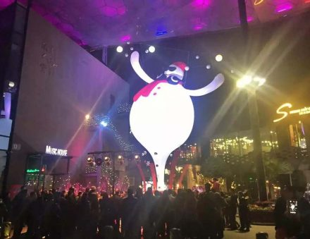 11m Inflatable Snowman