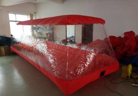 Inflatable Clear Car Cover | Regular Version