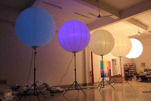 nylon tripod stand balloon