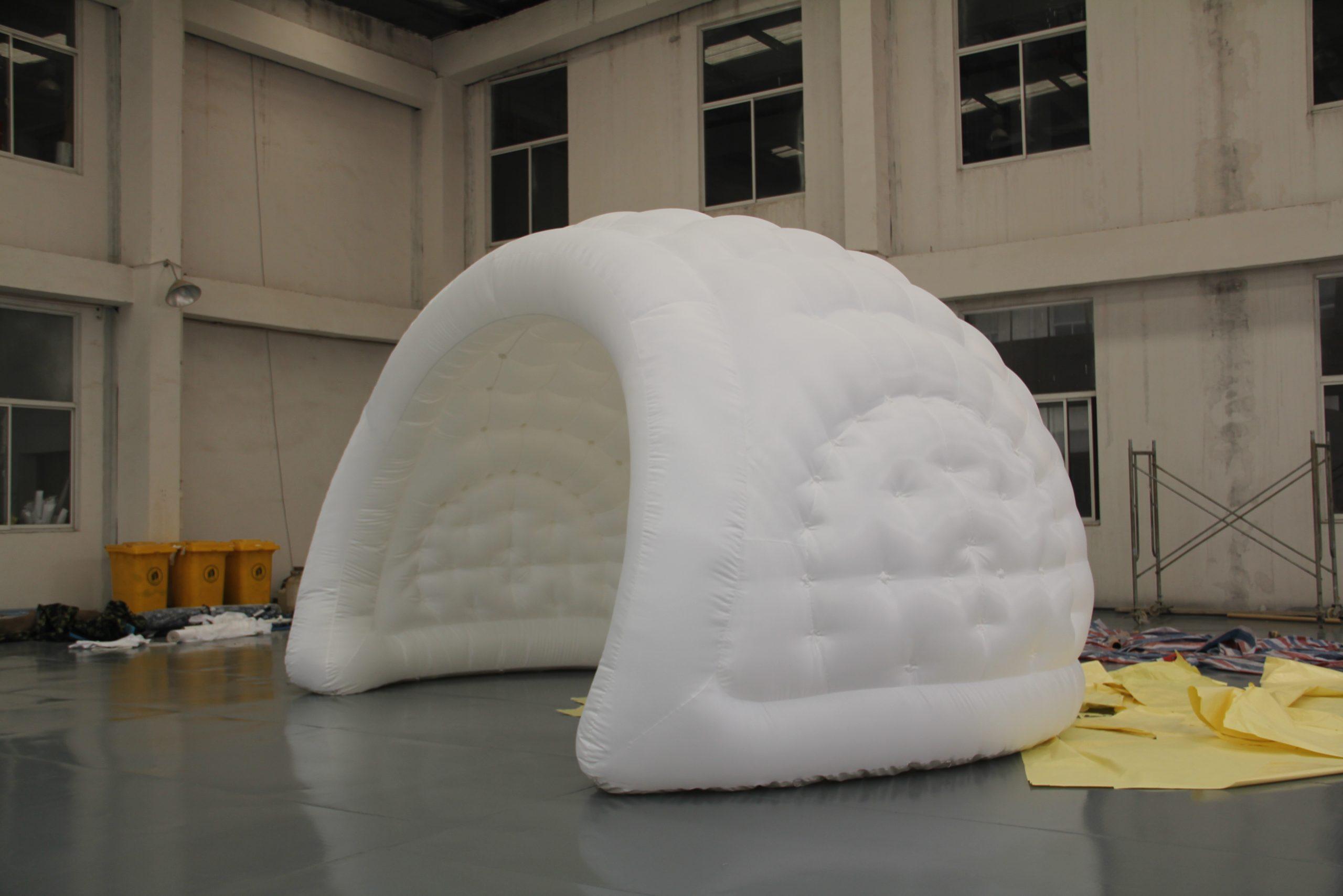 luna inflatable tent
