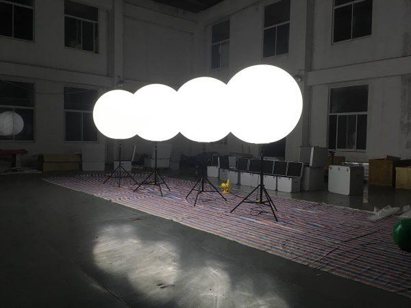 bright led light crystal balloon light