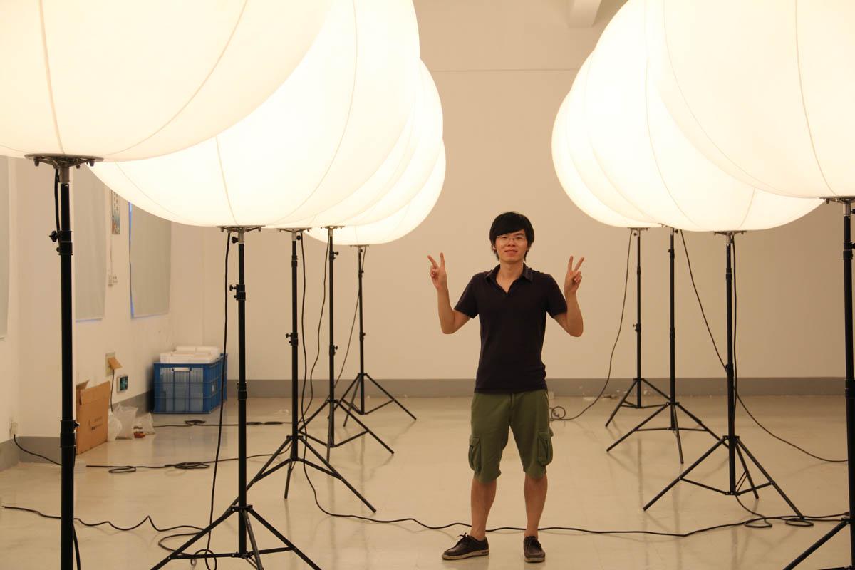 crystal balloon - lighted balloon stand