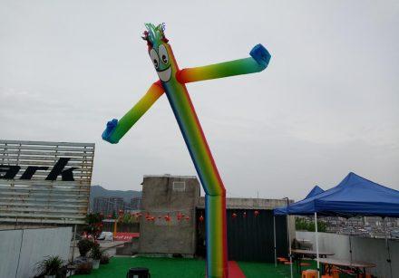 Air Dancer In Single Leg