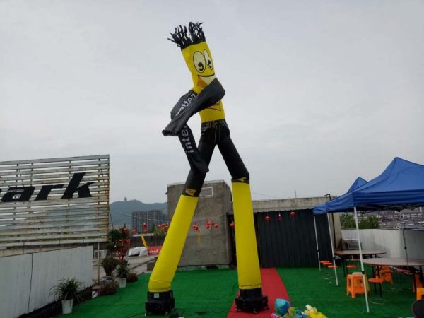 air dancer in two legs