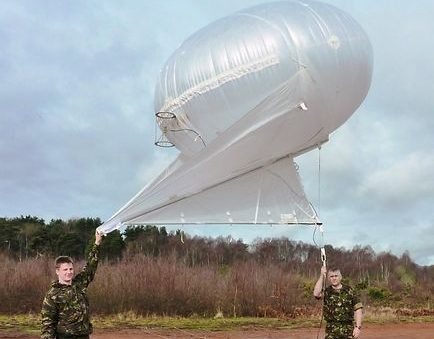 11 cu.m Helikite Balloon 3mX3mX2.1m