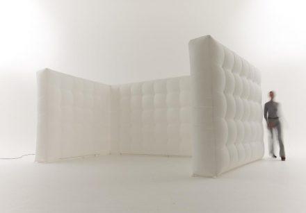 Cube Airwall in bubble effect