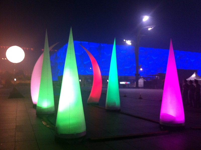 inflatable cone beijing 2 | Leader of Carcapsule | Helikite Balloon | Balloon Light | Inflatable in China