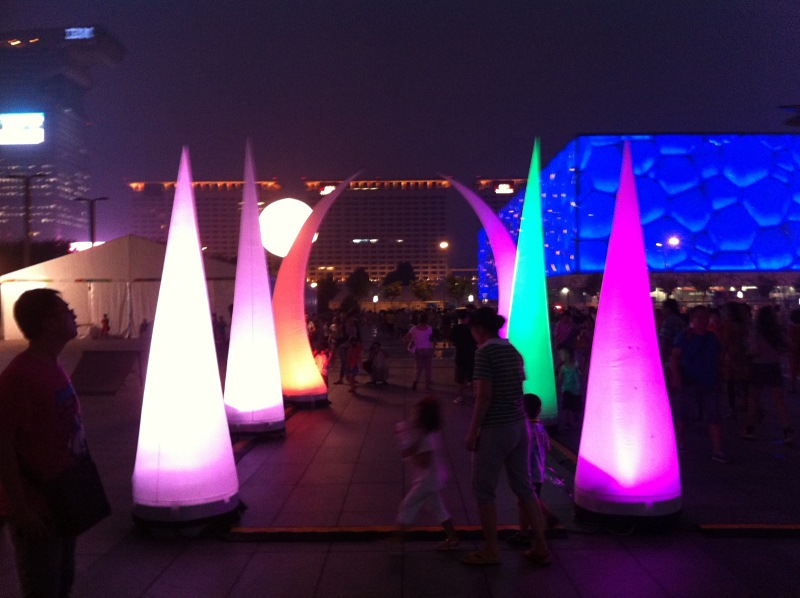 inflatable cones beijing | Leader of Carcapsule | Helikite Balloon | Balloon Light | Inflatable in China