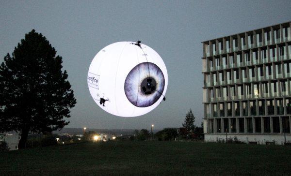 aerostain balloon drone hull