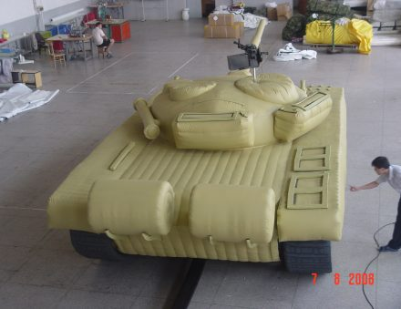 T72 Main Battle Tank – Inflatable Military Decoy