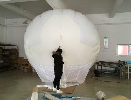 20 cu.m Helikite Balloon 3.5mX3.5mX2.6m