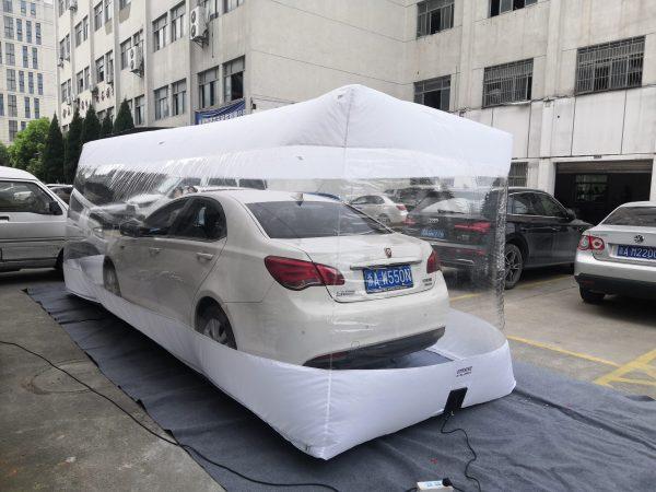 Car capsule   Car Cover – 550X193X203cm – India TATA Motor