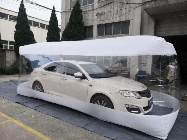Car capsule | Car Cover – 550X193X203cm – India TATA Motor
