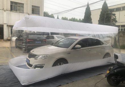 Inflatable Clear Car Cover | Customiz | India TATA Motor