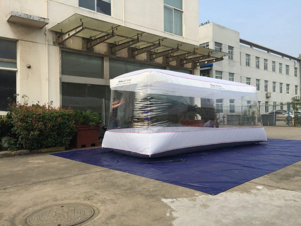 Car capsule | Car Cover – 550X220X203cm – India TATA Motor