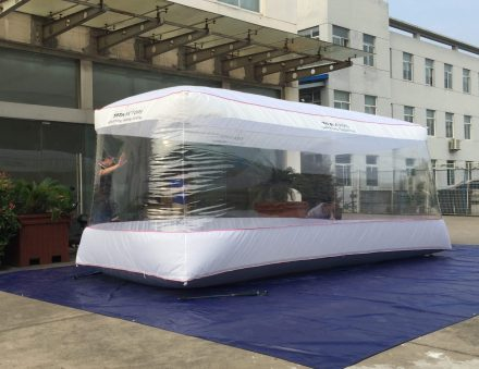 Car Capsules | Customized | India TATA Motor | 550X220X203cm