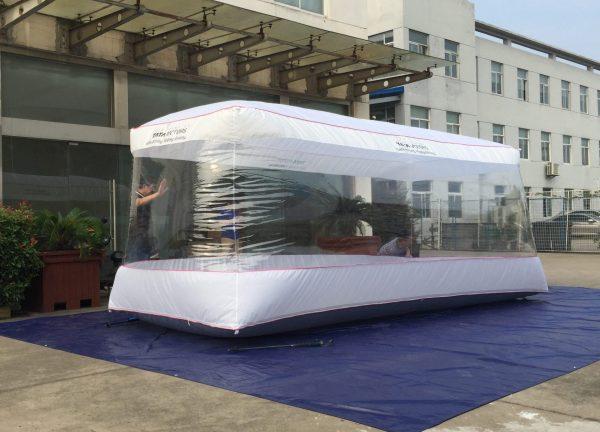 Car capsule   Car Cover – 550X220X203cm – India TATA Motor