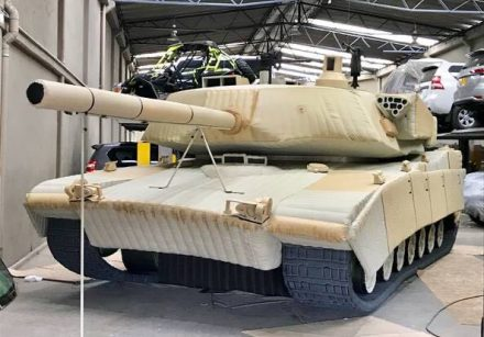 M1A2 Main Tank – Inflatable Military Decoy