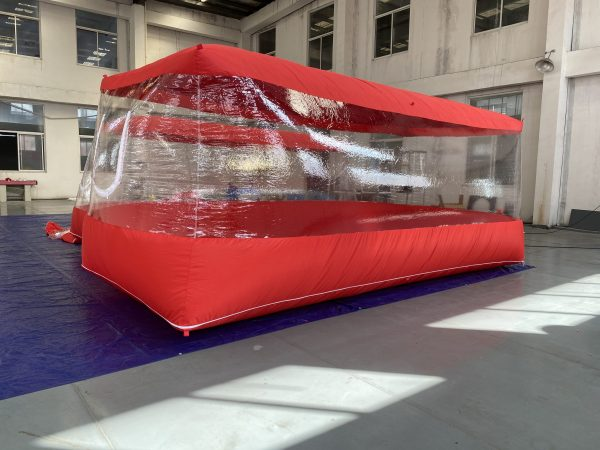 Car capsule | Inflatable Car Cover – 549X240X203cm