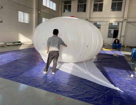 15 cu.m Helikite Balloon 3.45mX3.45mX2.4m