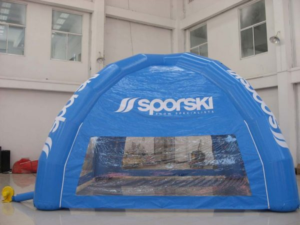 adverting tent
