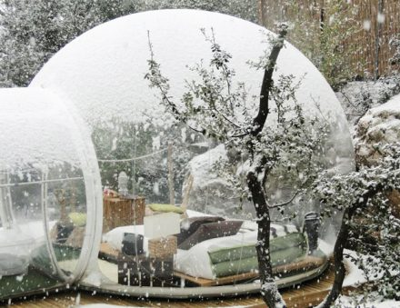 Bubble treehouse snow | Supplier of Carcapsule,Airship,Inflatable in China