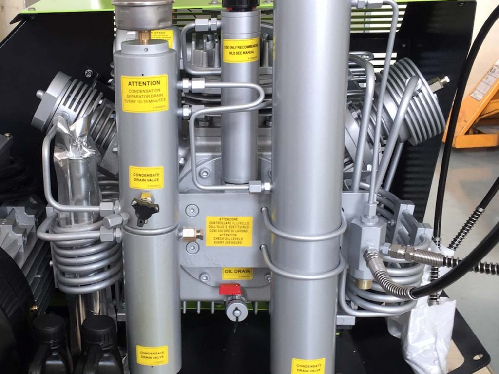 high-pressure air compressor
