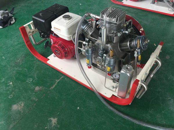 high-pressure breathing air compressor