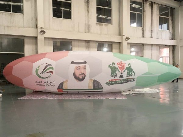 10m rc blimp UAE President's Cup
