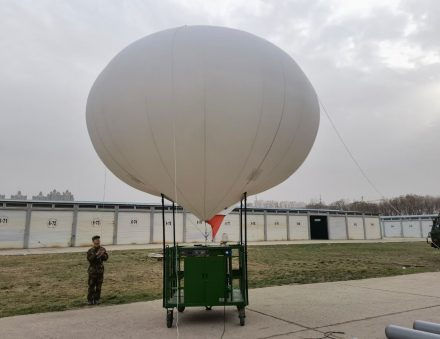 Cart System For Deploy and Store Helium Balloon