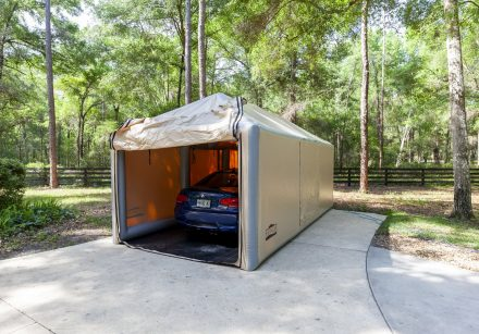 Clear Car Cover Showcase | Outdoor