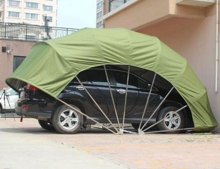 Semi-Automatic Folding Car Garage