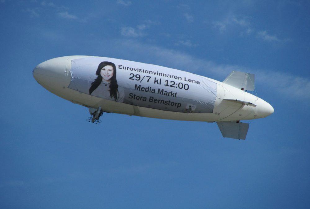 10m gasoline rc zeppelin
