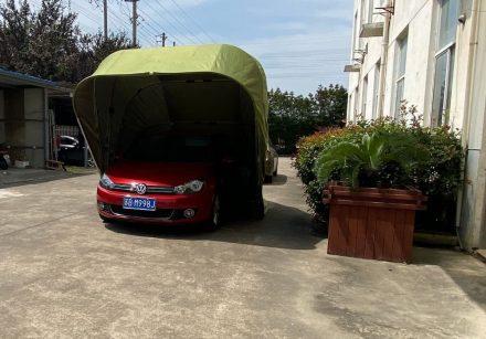 Semi-Automatic Folding Car Garage