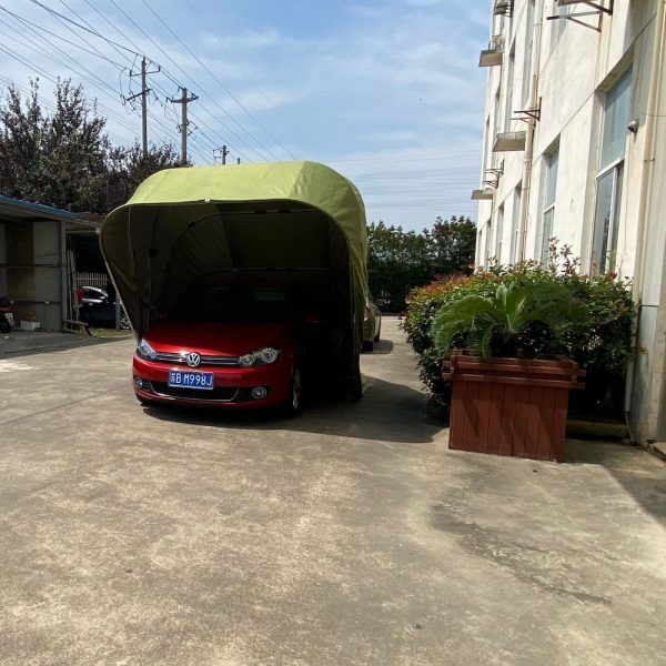 car garage front view 1   Leader of Inflatable Tent   Advertising Balloon   Balloon Light   Helium Compressor in China