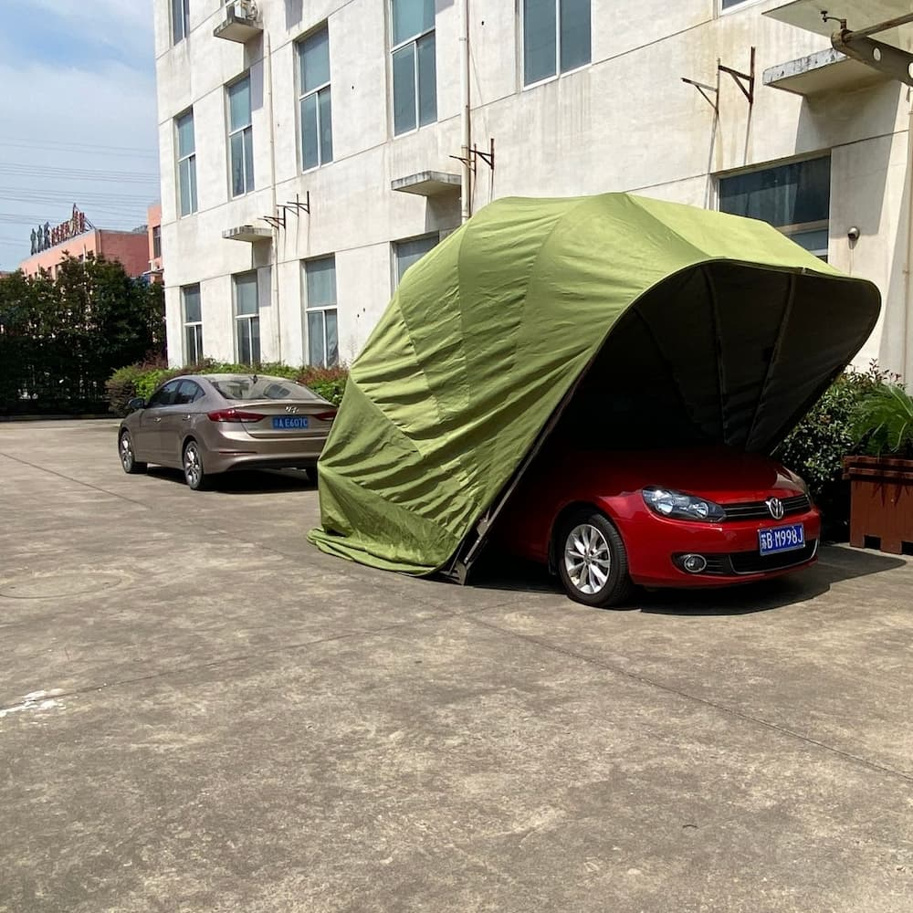 car garage side view 1 | Leader of Inflatable Tent | Advertising Balloon | Balloon Light | Helium Compressor in China