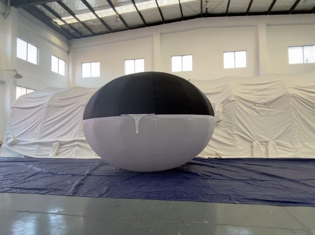 hybrid balloon ellipse | Leader of Inflatable Tent | Advertising Balloon | Balloon Light | Helium Compressor in China
