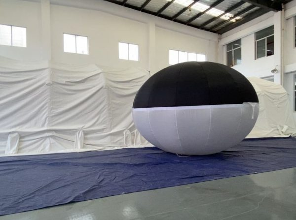 hybrid balloon ellipse 2021 1   Leader of Inflatable Tent   Advertising Balloon   Balloon Light   Helium Compressor in China