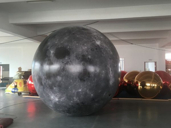 3m moon balloon 2 | Leader of Inflatable Tent | Advertising Balloon | Balloon Light | Helium Compressor in China