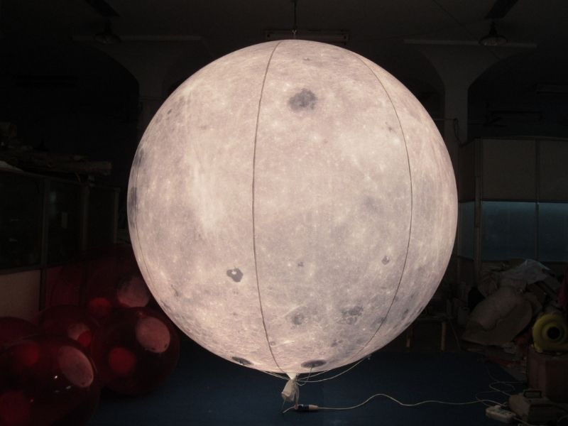 3m moon balloon with light 2 | Leader of Inflatable Tent | Advertising Balloon | Balloon Light | Helium Compressor in China