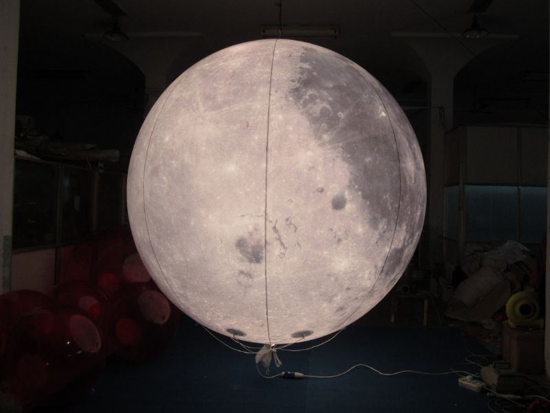 3m moon balloon with light 3 | Leader of Inflatable Tent | Advertising Balloon | Balloon Light | Helium Compressor in China