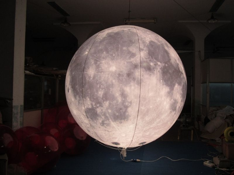 3m moon balloon with light 4 | Leader of Inflatable Tent | Advertising Balloon | Balloon Light | Helium Compressor in China