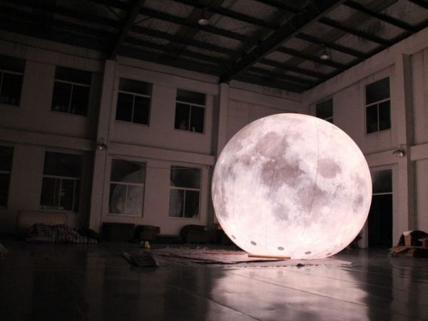 5m moon balloon 3 | Leader of Inflatable Tent | Advertising Balloon | Balloon Light | Helium Compressor in China