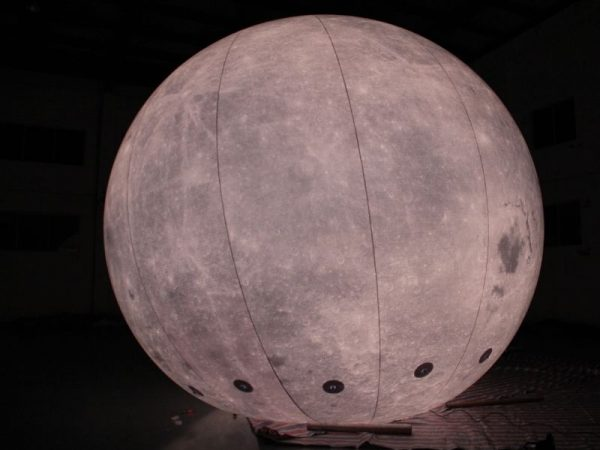5m moon balloon 4 | Leader of Inflatable Tent | Advertising Balloon | Balloon Light | Helium Compressor in China